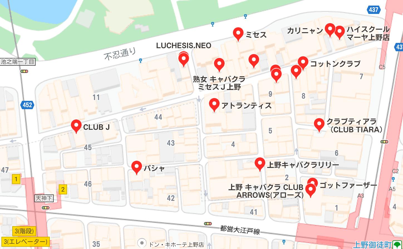 上野 夜遊び