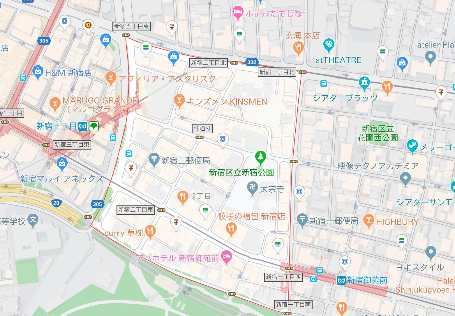 新宿2丁目 夜遊び