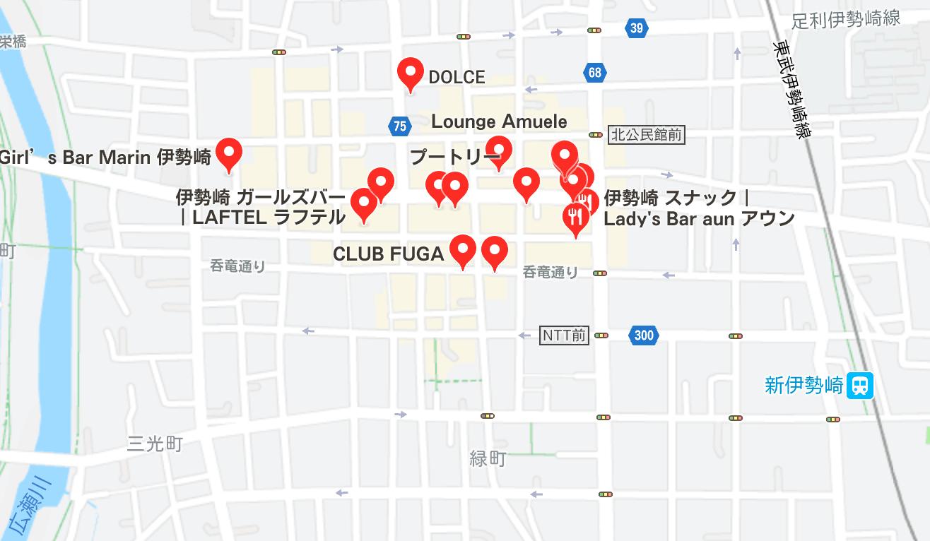 伊勢崎市 キャバクラ