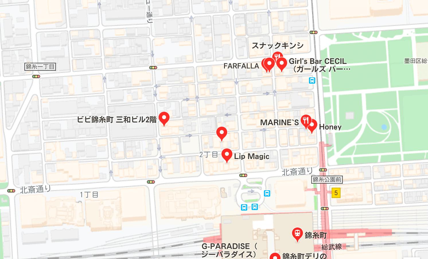 錦糸町 夜遊び