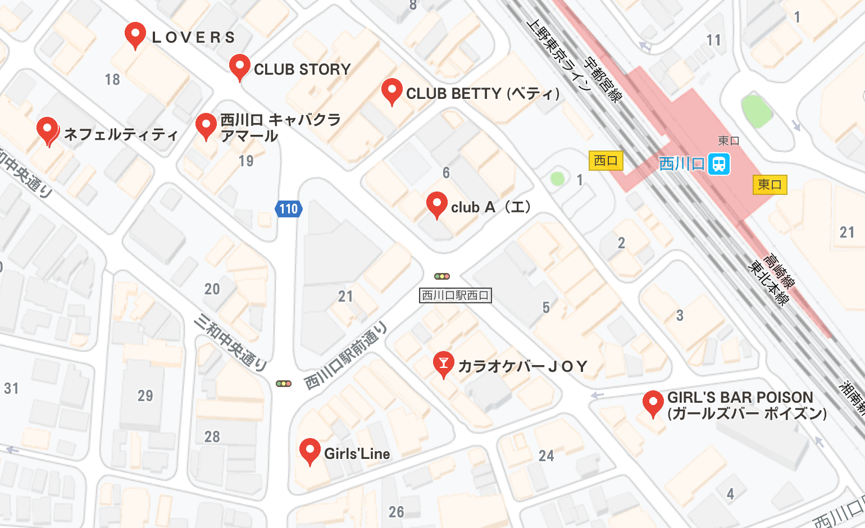 西川口 夜遊び