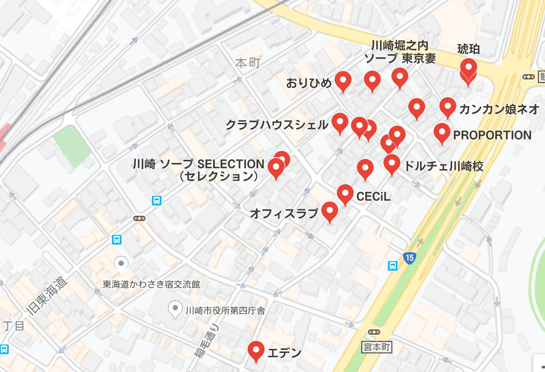 川崎 ソープ
