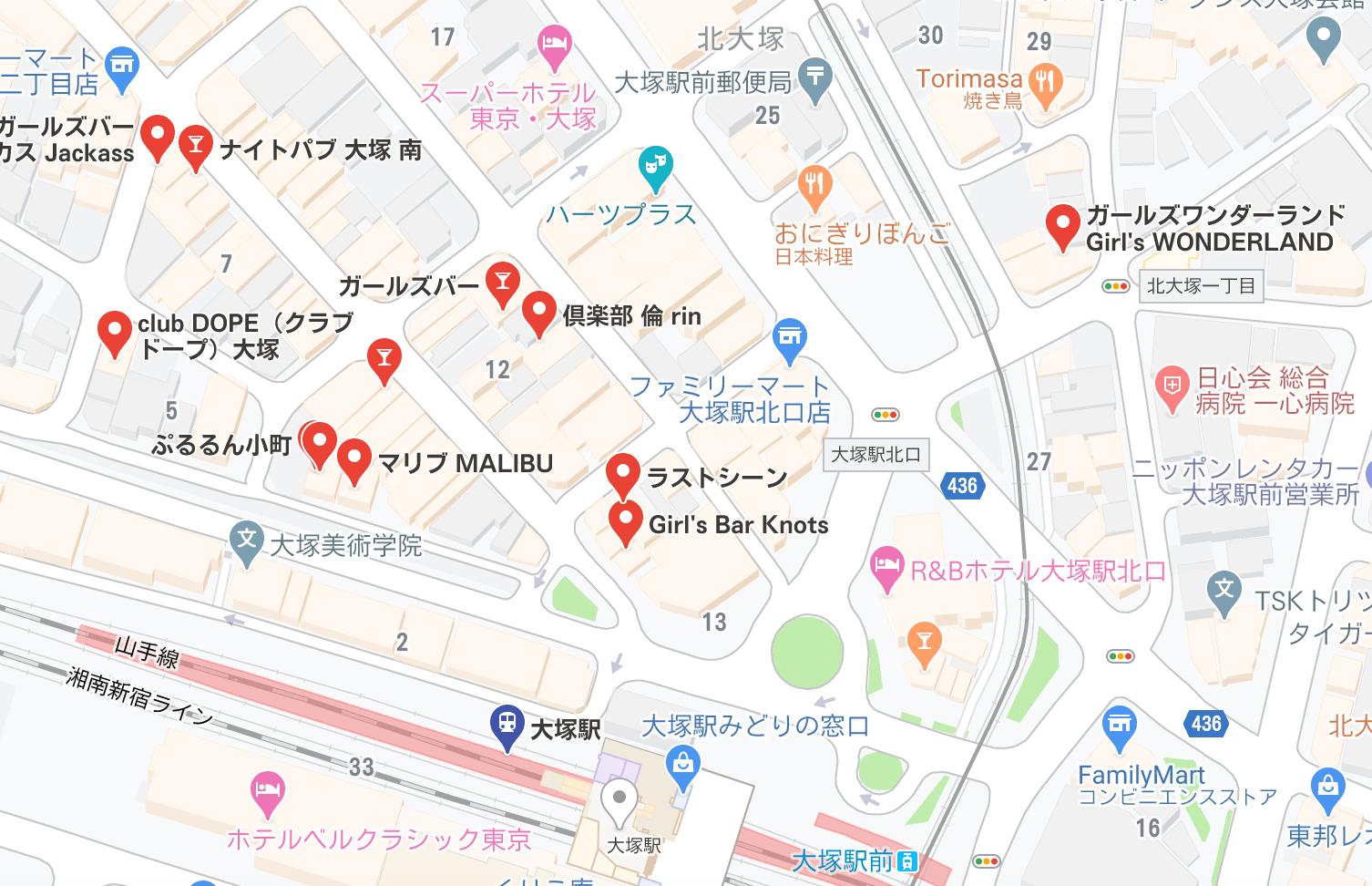 大塚 キャバクラ