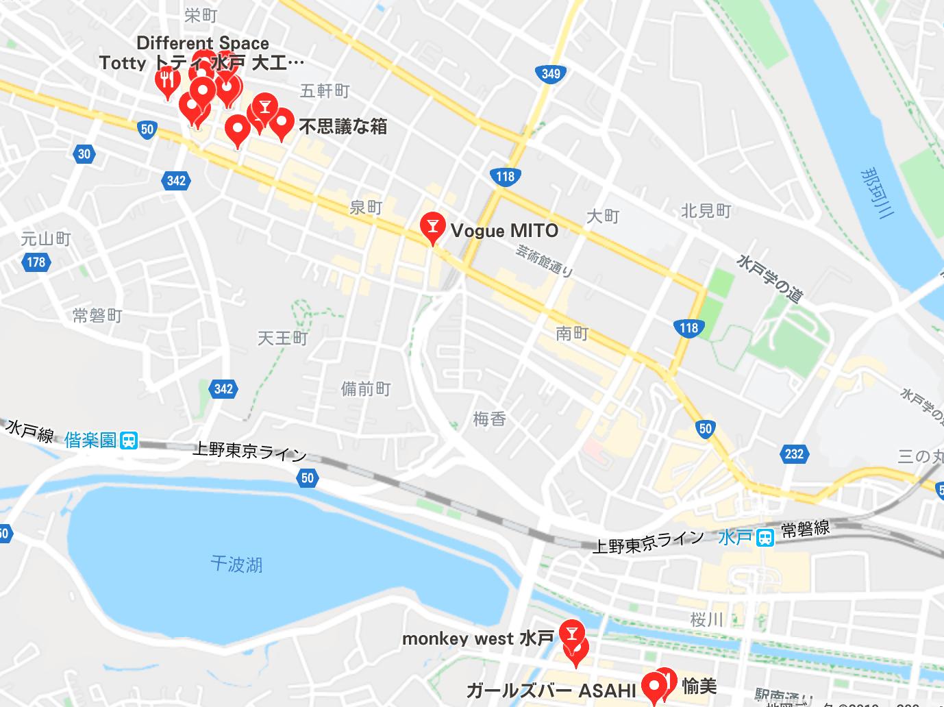 水戸市 キャバクラ