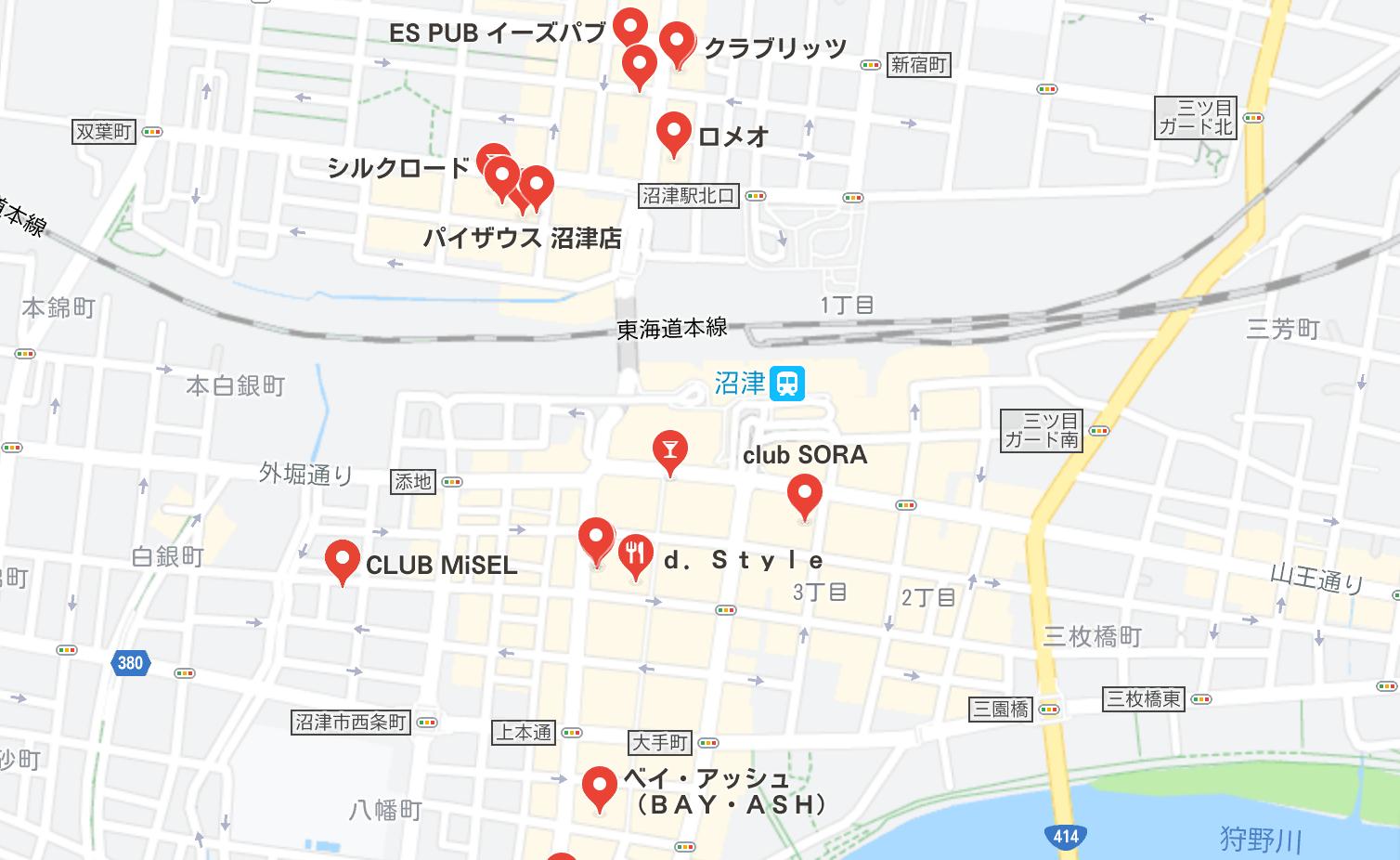沼津 キャバクラ