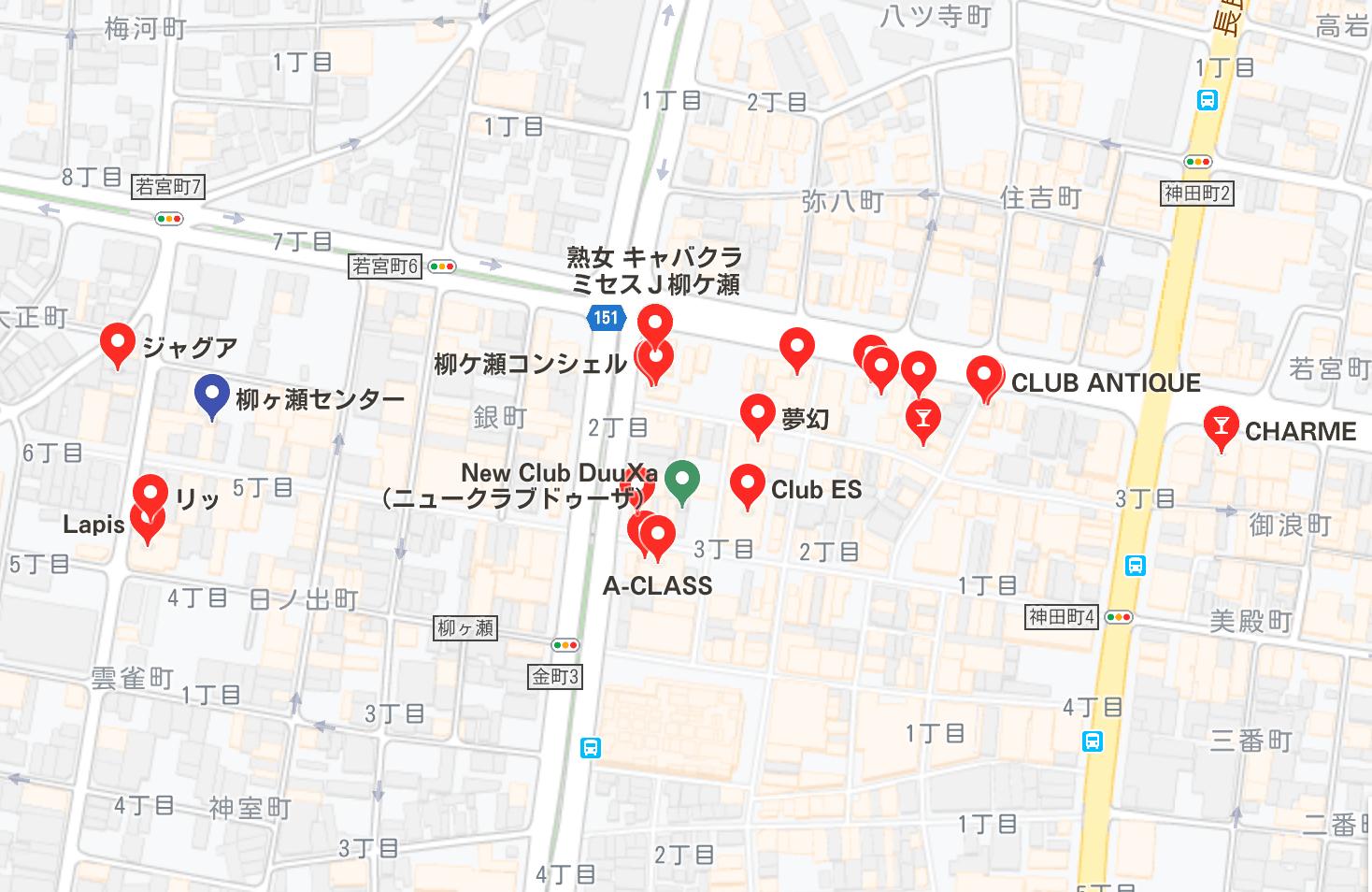 岐阜市 キャバクラ