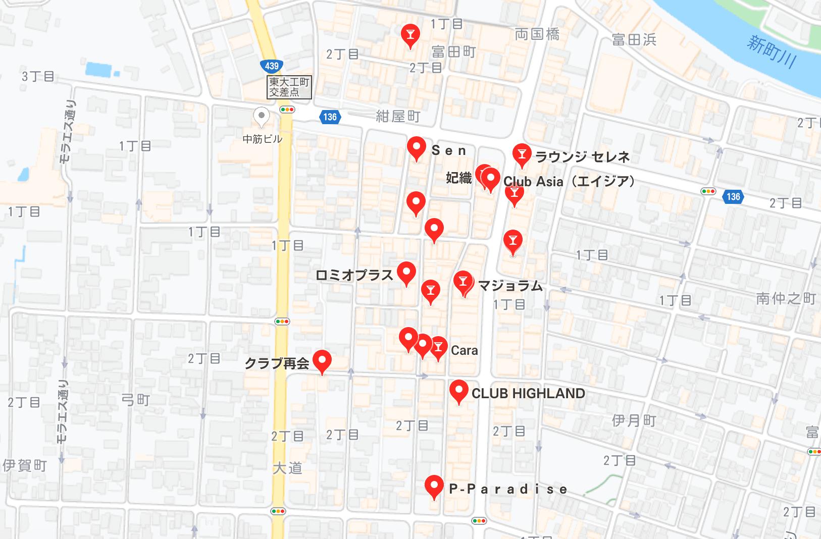 徳島市 キャバクラ