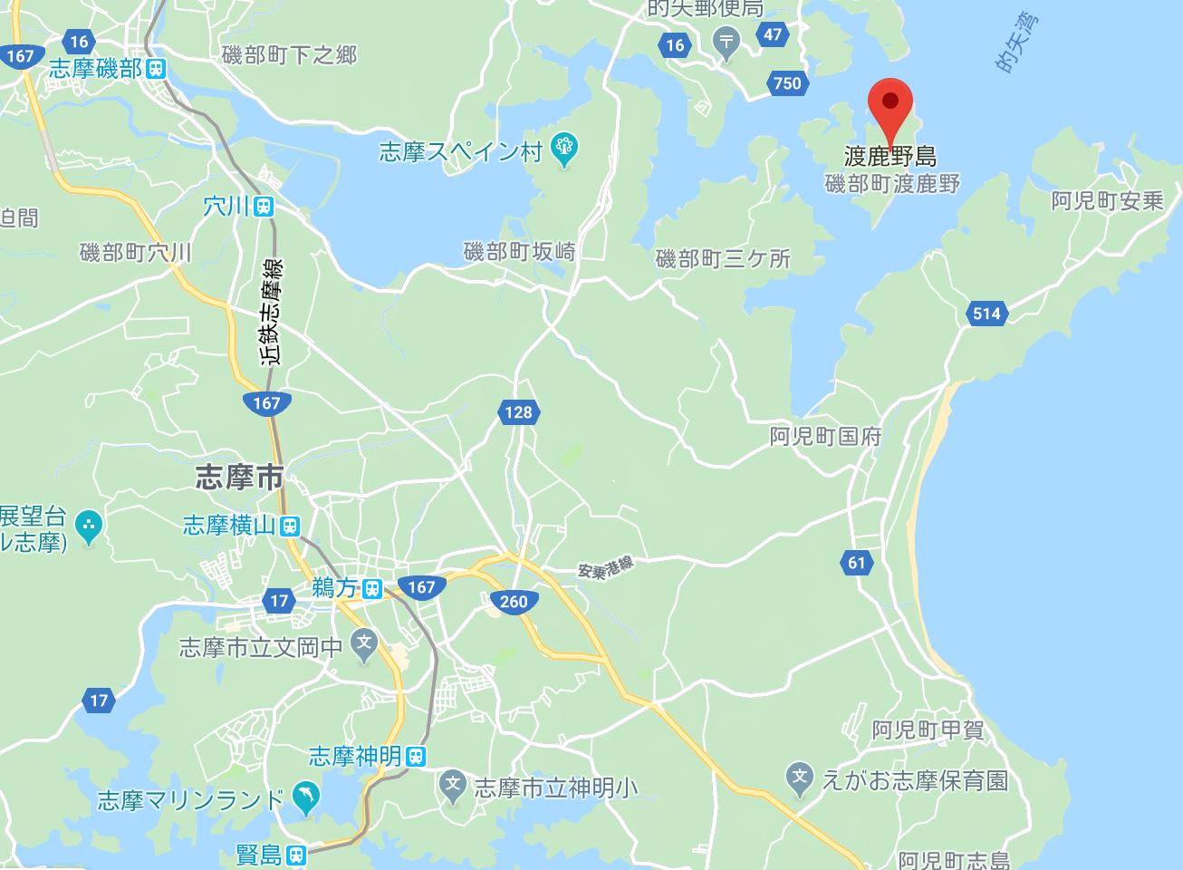 渡鹿野島 夜遊び