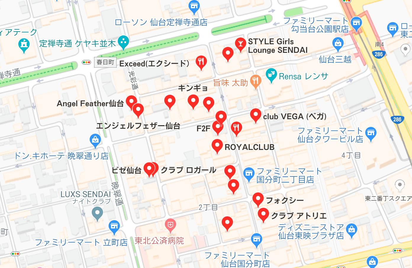 仙台市 キャバクラ