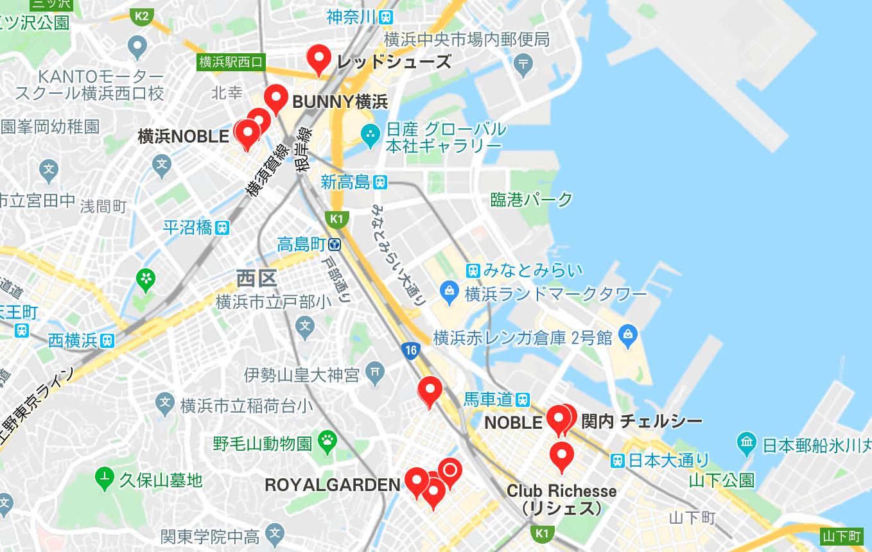 横浜市 キャバクラ