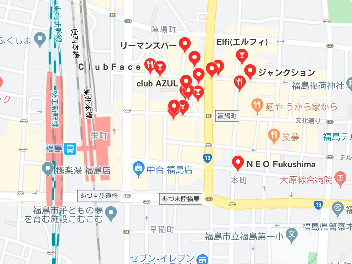 福島市 キャバクラ