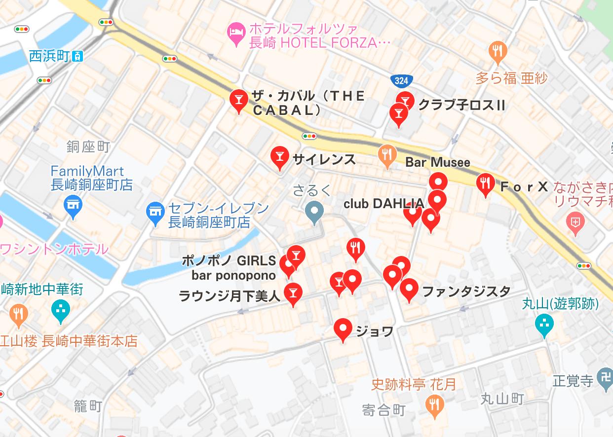長崎市 キャバクラ