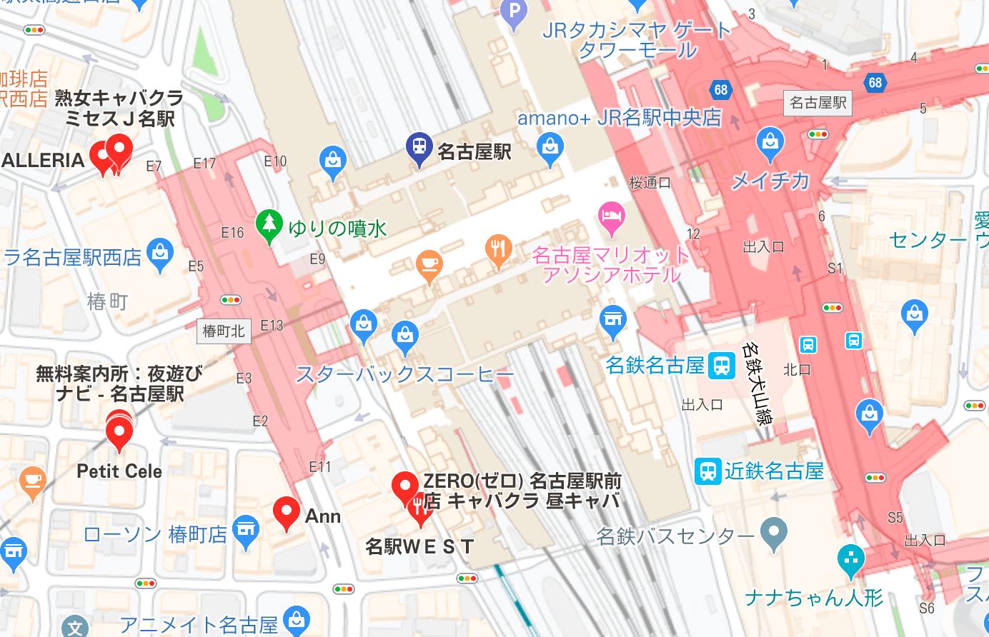 名古屋駅 キャバクラ
