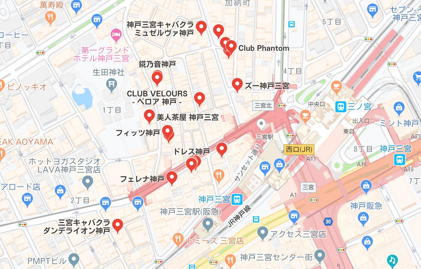 神戸市 キャバクラ