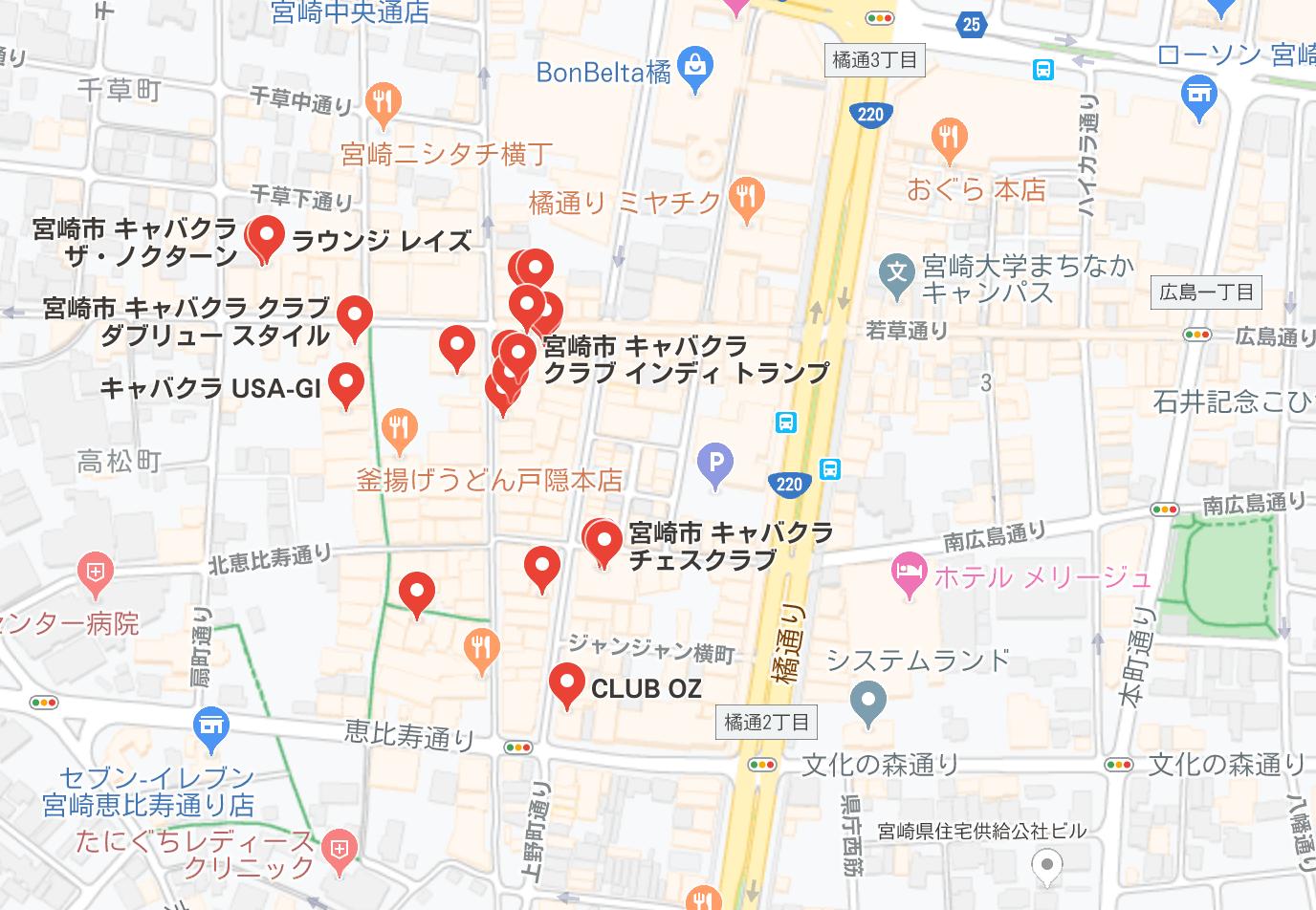 宮崎市 キャバクラ