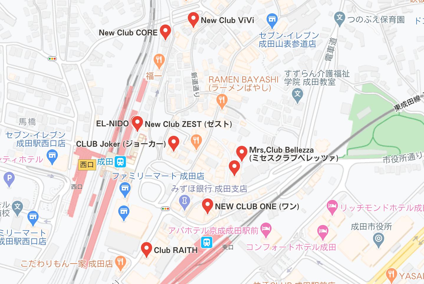 成田 キャバクラ