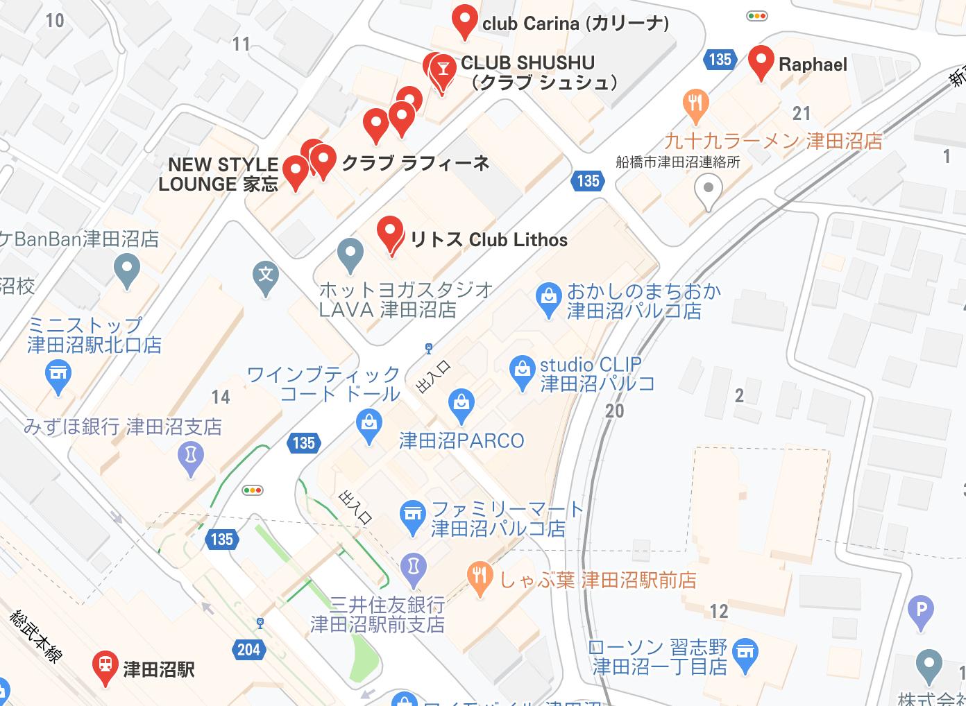 津田沼 キャバクラ