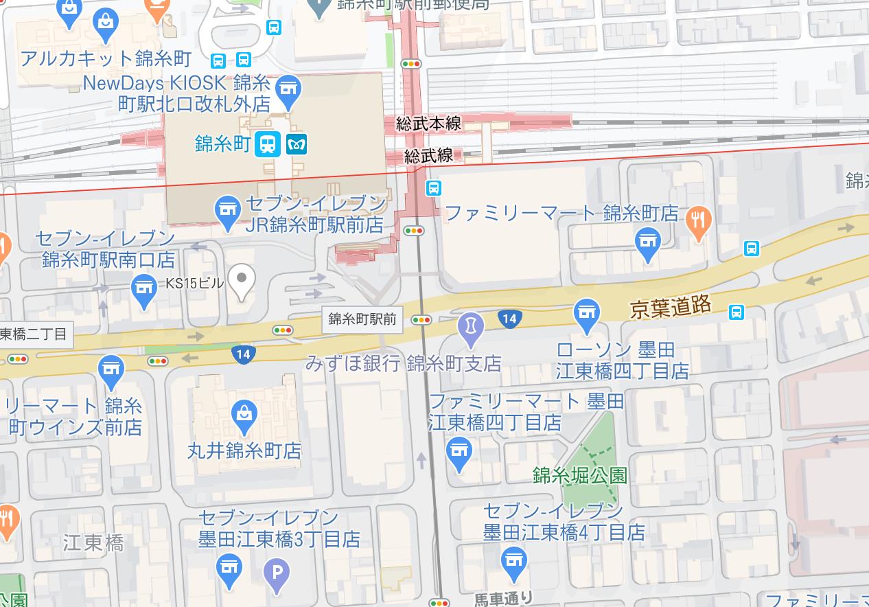 立ちんぼ 錦糸町