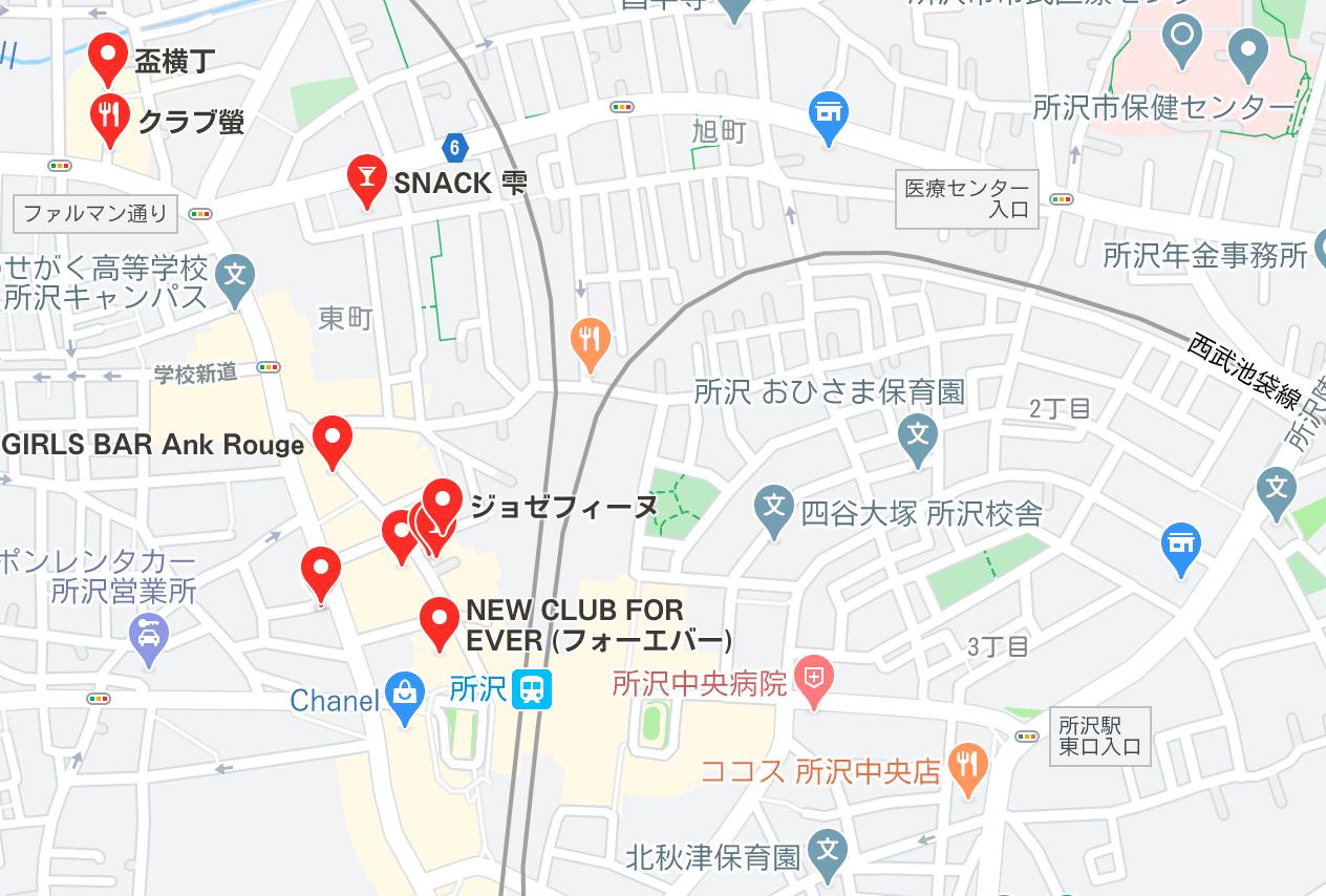 所沢 キャバクラ