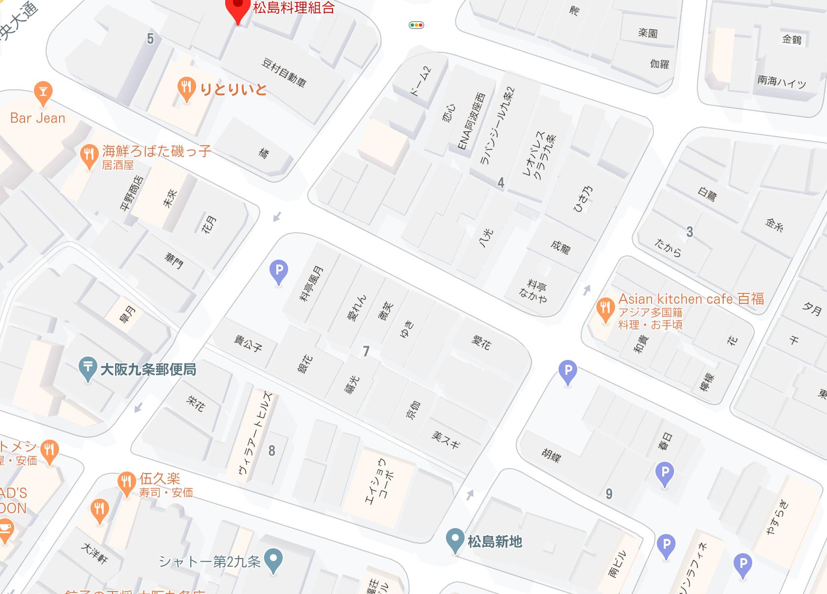 松島新地 マップ