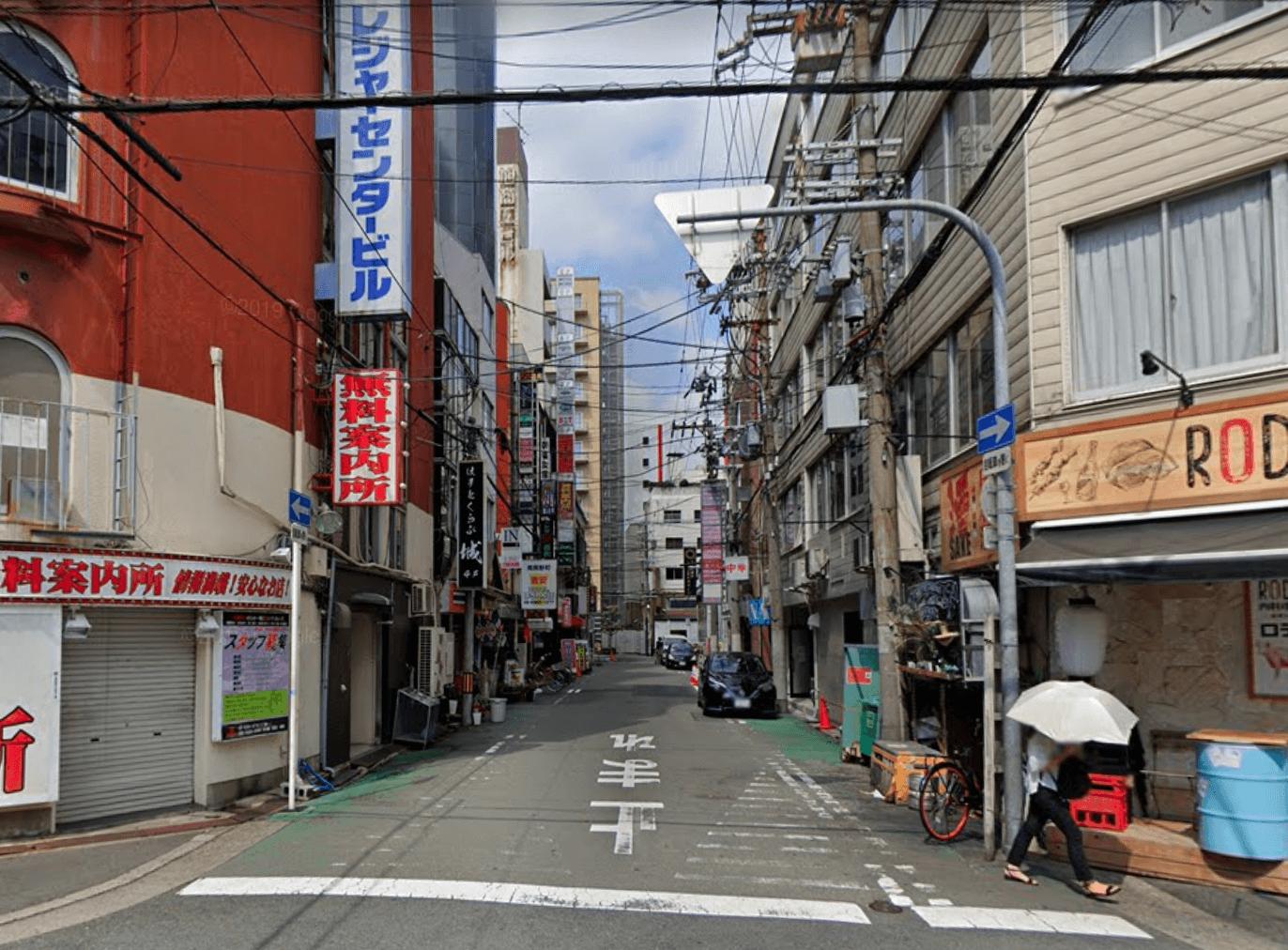 大阪 立ちんぼ