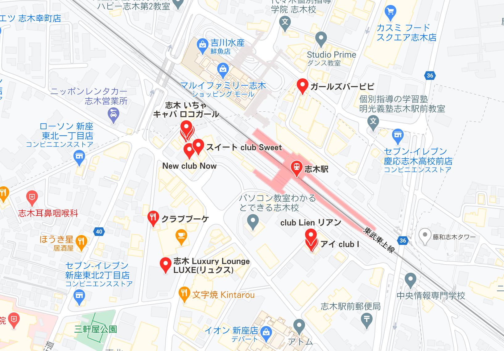 志木 キャバクラ