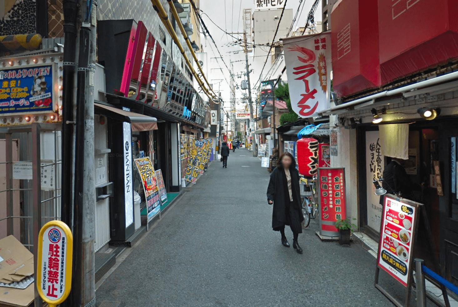 京橋 夜遊び