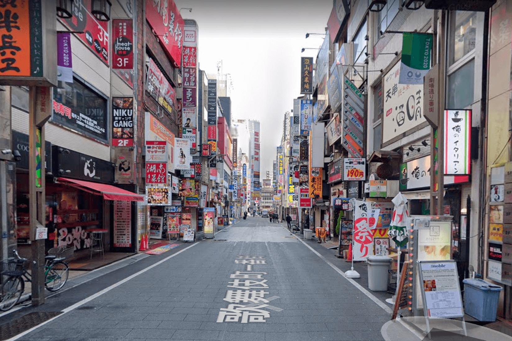 歌舞伎町 ナンパ