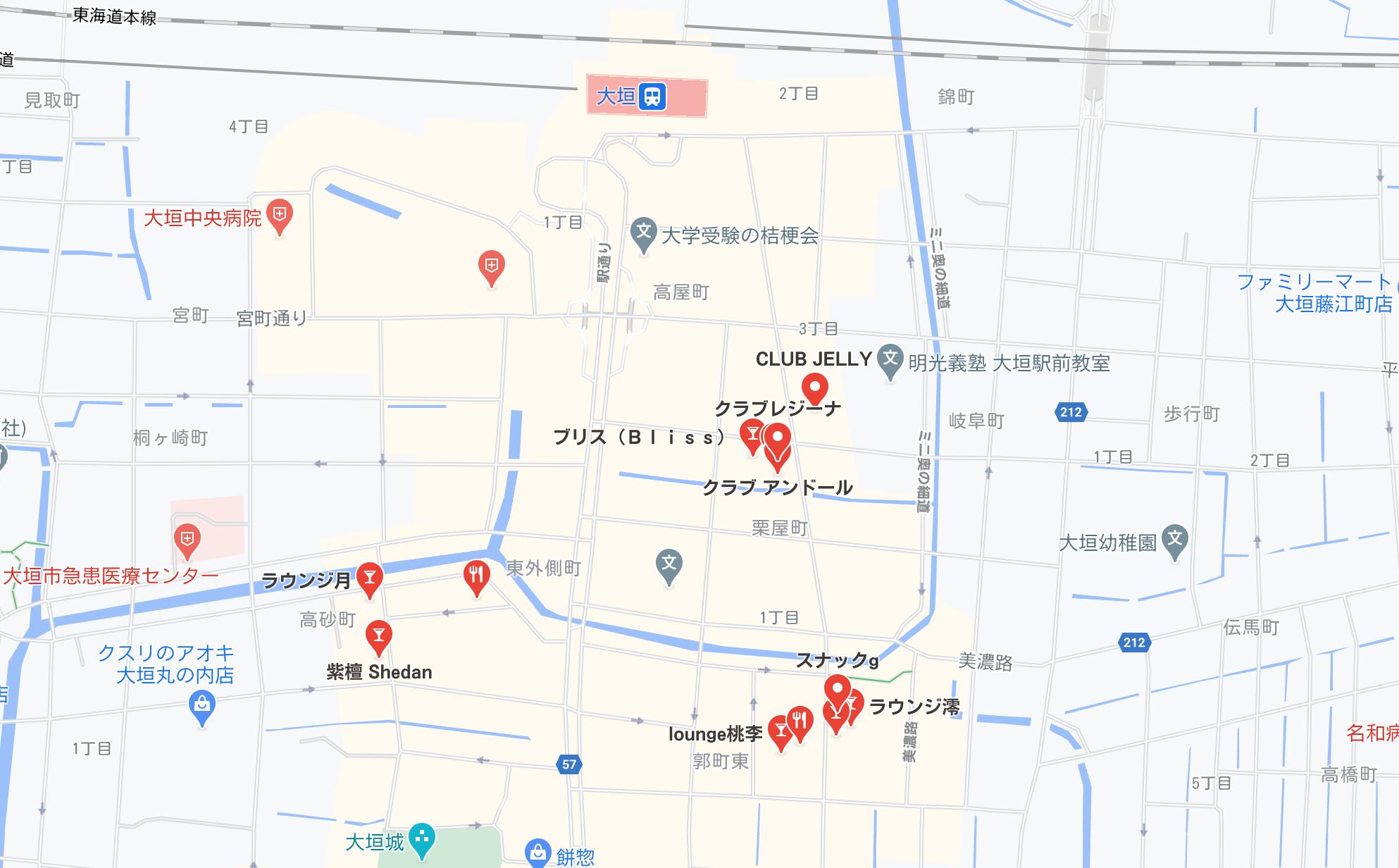 大垣市 キャバクラ