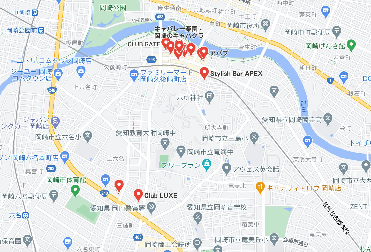 岡崎 キャバクラ