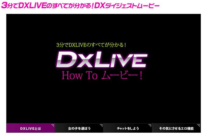 DXLIVE 遊び方