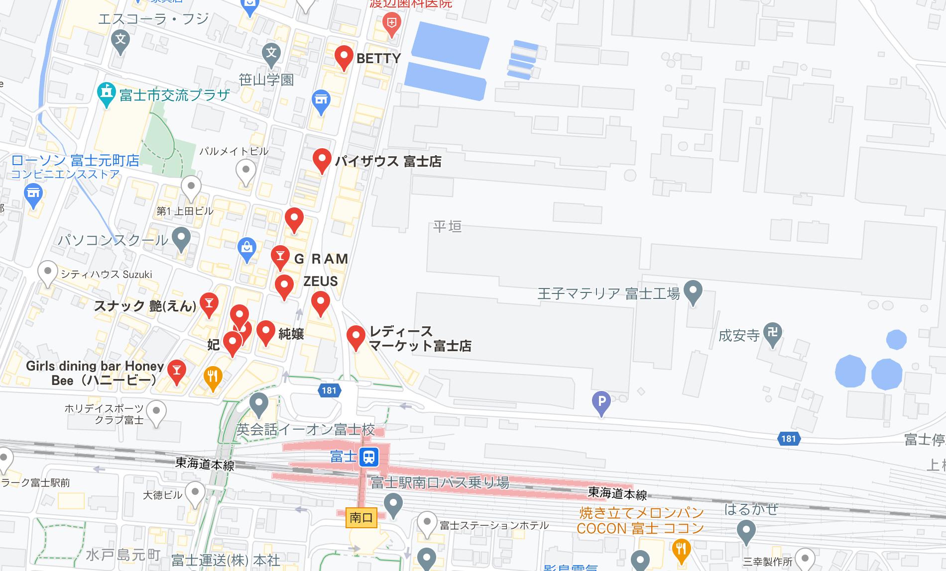 富士市 キャバクラ