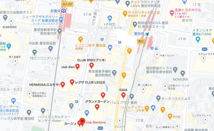 豊田市 キャバクラ